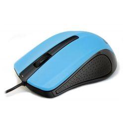 Gembird Mysz optyczna 1-scroll black/blue (usb)(mus-101-b) (8716309080699)