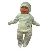 Wyprawka dla noworodka Do szpitala Niebieska 56 0+, E3CE-844B0