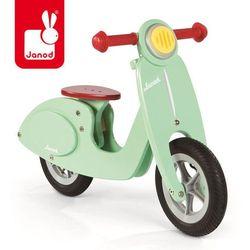 - rowerek biegowy miętowy scooter wyprodukowany przez Janod