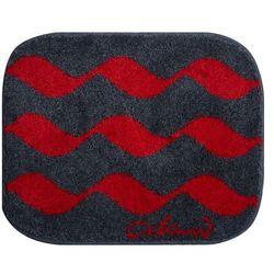 Grund dywanik łazienkowy colani 41, czerwona, 50x60 cm (8590507315117)