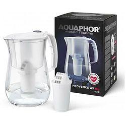 Aquaphor Dzbanek filtrujący Provence 4,2 l + wkład magnezowy A5 MG (kolor biały)