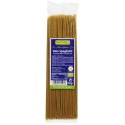 250g spaghetti makaron ryżowy bezglutenowy bio marki Rapunzel