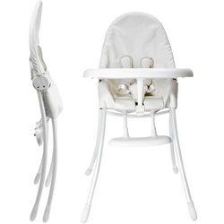 Krzesełko do karmienia BLOOM Nano składane Biało-Biały + DARMOWY TRANSPORT! - produkt z kategorii- Krzese�