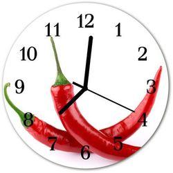 Zegar ścienny okrągły chilli marki Tulup.pl