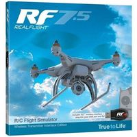 Symulator Realflight RF7.5 SLT Wireless Transmitter Interface Edition
