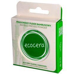 puder prasowany bambusowy - cera tłusta i mieszana 10g marki Ecocera