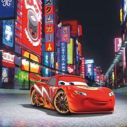 Obraz na płótnie disney auta zygzak tokio (30 x 30) marki Disney - dekoracje pokoju