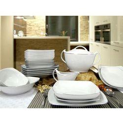 Zakłady porcelany ćmielów s.a. Serwis obiadowy akcent 12 osób 42 el. 9718 -ćmielów (5907710031261)