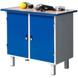 Aj produkty Stół warsztatowy flex, na nóżkach, 2 szafki, 990x595x900 mm