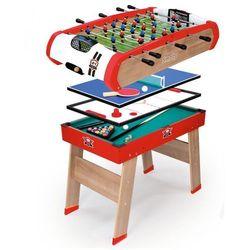 Smoby stół do gry 4w1 (3032166400018)