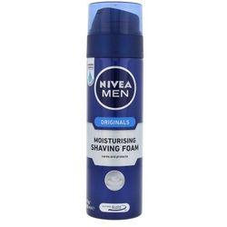 Nivea Men Originals Moisturising Shaving Foam 200ml M Pianka do golenia