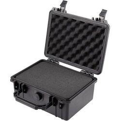 Walizka narzędziowa, wodoszczelna Basetech 1310218, (DxSxW) 240 x 195 x 112 mm, Kolor: czarny, 1310218