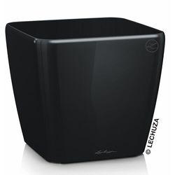Donica quadro ls czarna 50x50x47 cm marki Lechuza