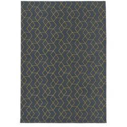 Carpet decor :: dywan cube golden 160x230cm - żółty   szary