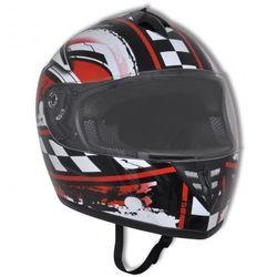 Integralny kask na motor, rozmiar M - produkt z kategorii- kaski motocyklowe
