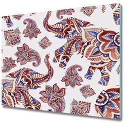 Deska kuchenna Słonie ornamenty
