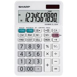Sharp Kalkulator desktop box sh-el330w biały