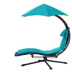 Fotel hamakowy, Niebieski DRM360 z kategorii Krzesła ogrodowe