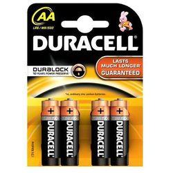 Baterie Duracell AA LR6 Blister 4szt BASIC, kup u jednego z partnerów