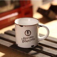Porcelanowy MINI kubek retro - Refined Vanguards - Refined Vanguards