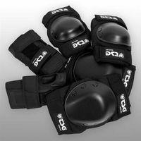 ochraniacz TSG - Basic-Set Black (102) rozmiar: M