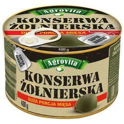Agrovita  400g. konserwa żołnierska | darmowa dostawa od 200 zł