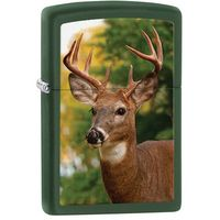 Zapalniczka ZIPPO Deer, Green Matte (Z28471) z kategorii Zapalniczki