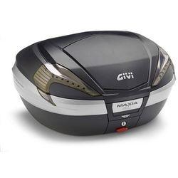 Kufer Givi V56NNT Maxia 4 (czarny, 56 litrów, szare odblaski, pokrywa karbonowa) ze sklepu Motobagaz.pl