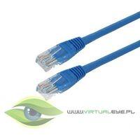 4World kabel krosowy RJ45, bez osłonki, Cat. 5e UTP, 15 m, niebieski (04722) Darmowy odbiór w 21 miastach!
