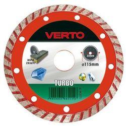 Tarcza do cięcia VERTO 61H2T1 115 x 22.2 diamentowa turbo z kategorii tarcze do cięcia