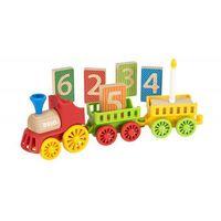 BRIO 30449 Kolejka drewniana: Duży pociąg urodzinowy deluxe, BR-30449