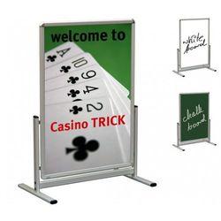 Tablica plakatowa na stojaku t b2(500x700mm) marki 2x3