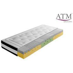 ATM FORTE VISCO LUX - materac termoelastyczny, piankowy, Rozmiar - 90x200, Twardość - średni, Pokrowiec - Kashmira WYPRZEDAŻ, WYSYŁKA GRATIS