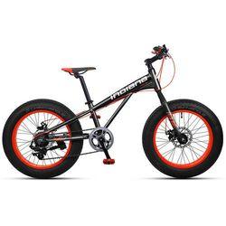 """Rower INDIANA Fat Bike 20"""" Czarno-Pomarańczowy + DARMOWY TRANSPORT! - produkt z kategorii- Pozostałe"""