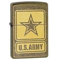 Zapalniczka Zippo U.S. Army Antique Brass 28933 ()