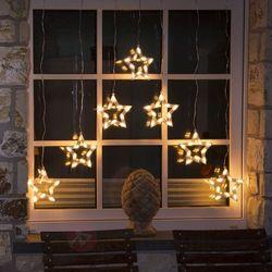 Fantastyczna zasłona świetlna LED Gwiazda, 70-pkt (7318300431039)