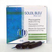 Jade recherche Spirulina w płynie soleil bleu blue sun, 9,5mg -