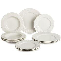 Banquet Blanche zestaw talerzy, 12 szt.