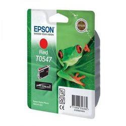 Epson oryginalny ink C13T054740, red, 400s, 13ml, Epson Stylus Photo R800, R1800 (8715946356365)