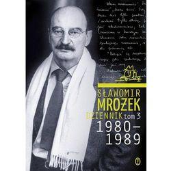 DZIENNIK 1980-1989 TOM 3 TW, książka w oprawie twardej