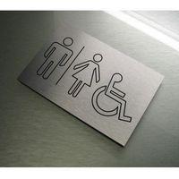 Piktogram Symbol Znak Na Drzwi WC TOALETA WSPÓLNA