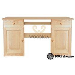 Woodica Biurko 145 2s2d