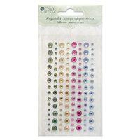 Kryształki samoprzylepne  grkr-019/120szt. - 4 kolory marki Dalprint