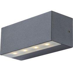Kinkiet lampa oprawa ścienna zewnętrzna noam 8x0,5w led ciemnoszary 34152 marki Globo