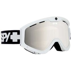 gogle snowboardowe SPY - Snb T3 White Wht/Bro/Si (WHT BRO SI) rozmiar: OS - produkt z kategorii- Kaski i gogle