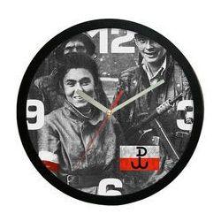 Zegar ścienny powstańcy warszawscy marki Atrix