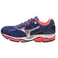 Mizuno WAVE ENIGMA 6 Obuwie do biegania treningowe dazzling blue/silver/fiery coral