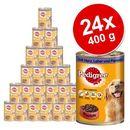 Megapakiet  classic, 24 x 400 g - junior: drób i ryż marki Pedigree