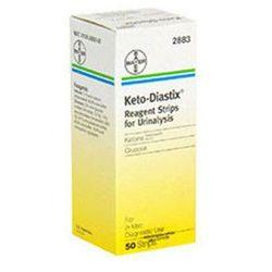 Keto-diastix testy paskowe x 50 sztuk, marki Bayer