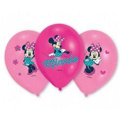 Amscan Balony urodzinowe myszka minnie - 27 cm - 6 szt